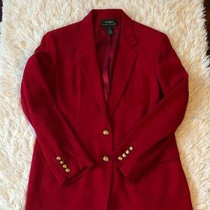 Lauren Ralph Lauren VTG Wool Blazer Sz 12